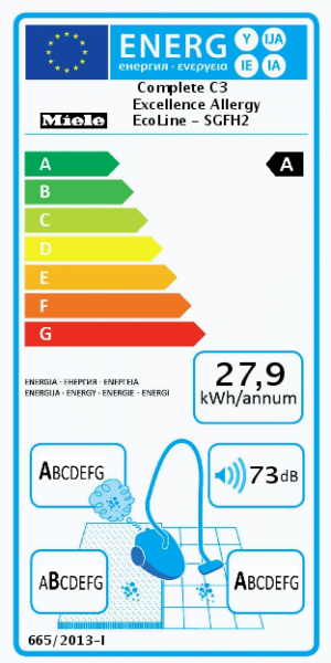 Miele Complete C3 Excellence Allergy EcoLine Hallbäcks