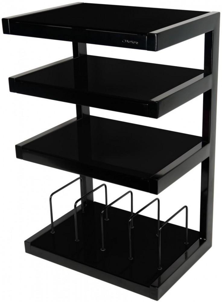 norstone esse hifi vinyl svart svart glas hallb cks. Black Bedroom Furniture Sets. Home Design Ideas