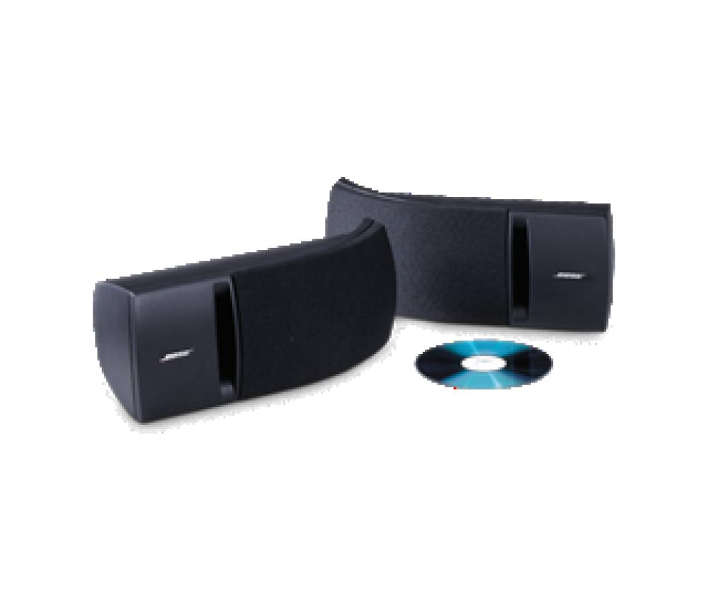 Bose 161-högtalarsystem Svart