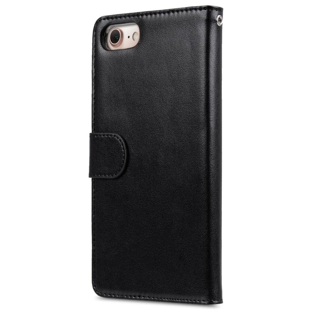 Melkco Svart wallet book för iPhone 7/8 Plus