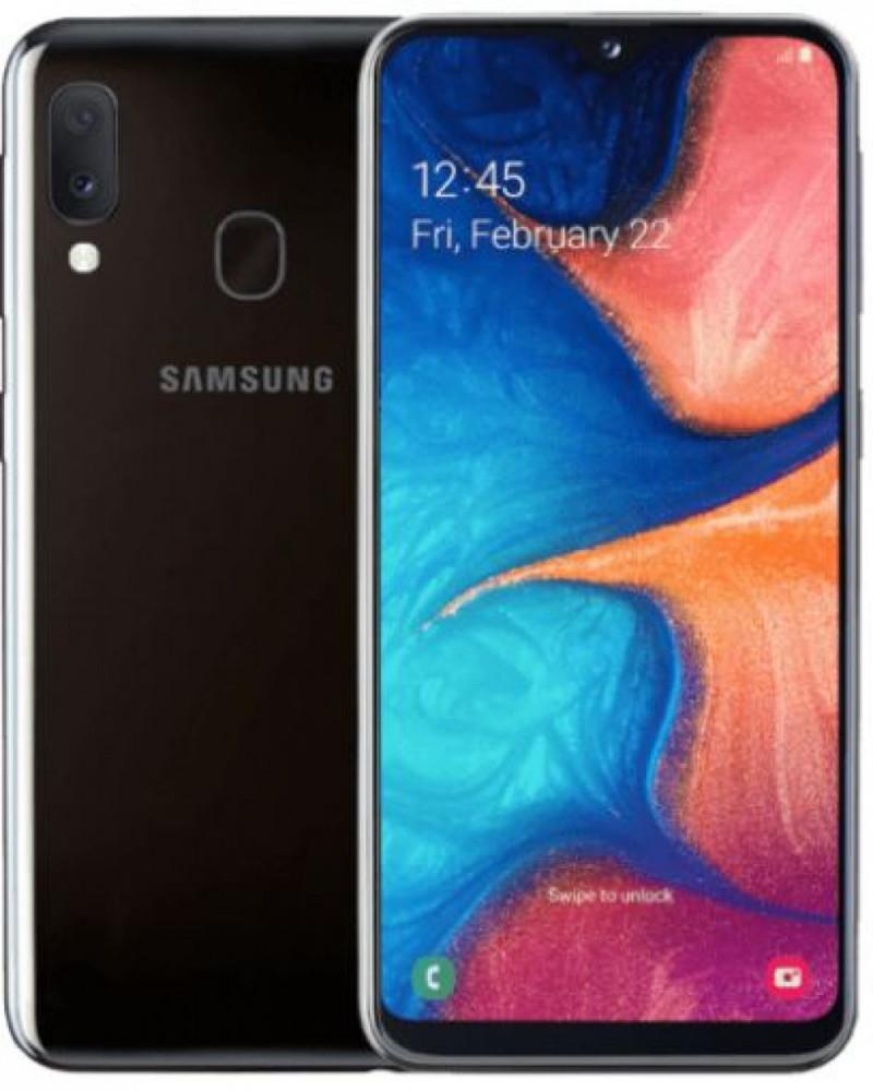 Samsung Galaxy A20e svart 199 kr/mån 24 mån SST NET avtal