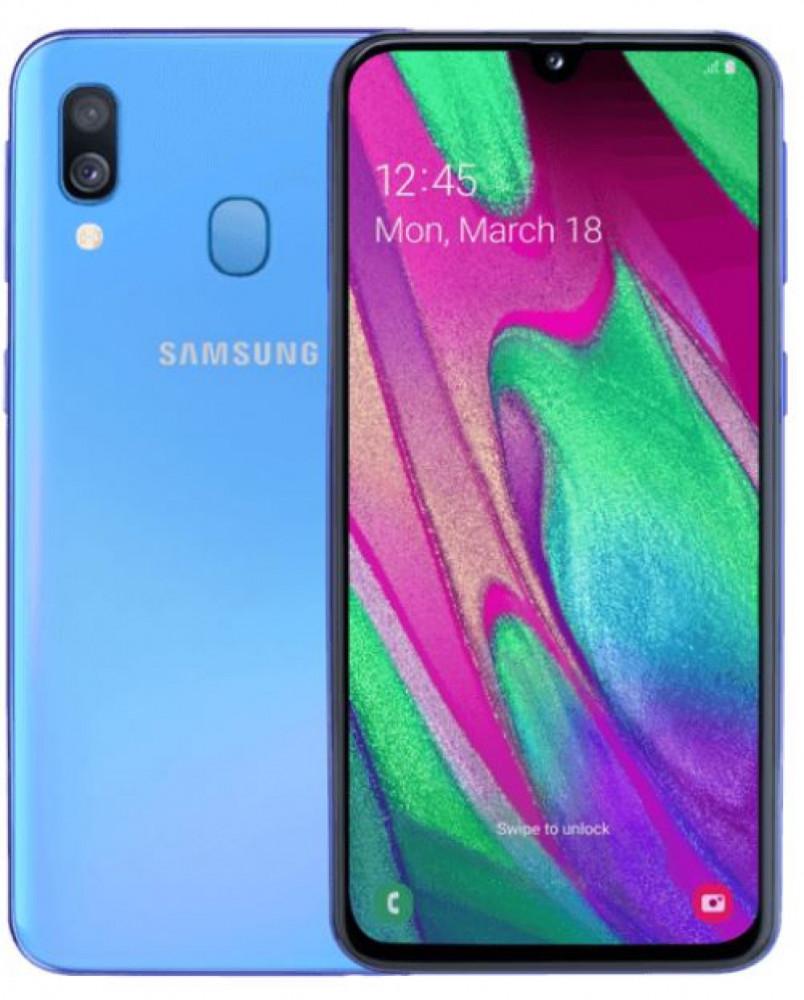 Samsung Galaxy A40 blå 299 kr/mån 24 mån SST NET avtal