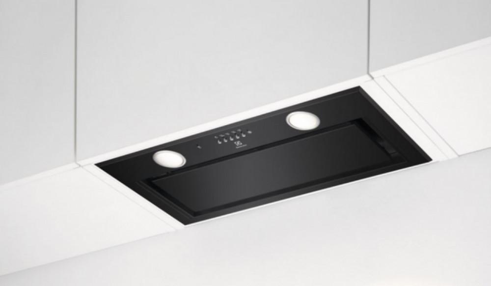 Electrolux LFG716R Integrerad köksfläkt 54 cm i svart utförande!